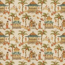 Chestnut Asian Decorator Fabric by Fabricut