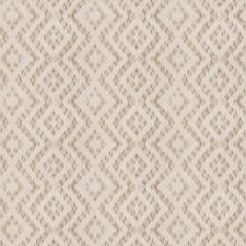 Ecru Flamestitch Decorator Fabric by Fabricut