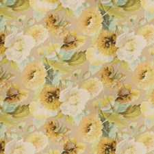 Lily Pond Floral Decorator Fabric by Vervain