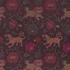 Aubergine Decorator Fabric by Schumacher