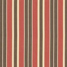Red/Java/Beige Decorator Fabric by Schumacher