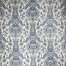Spearmint Floral Decorator Fabric by Stroheim
