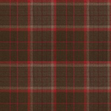 Madder Check Decorator Fabric by Stroheim