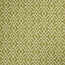 Moss Geometric Decorator Fabric by Stroheim