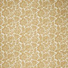 Honey Floral Decorator Fabric by Stroheim