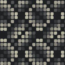 Onyx Geometric Decorator Fabric by Fabricut