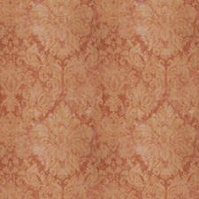 Red Jasper Damask Decorator Fabric by Vervain
