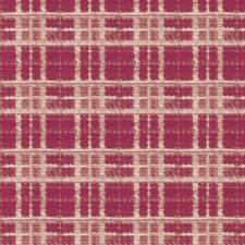 Magenta Check Decorator Fabric by S. Harris