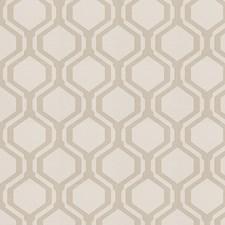 Stone Geometric Decorator Fabric by Fabricut