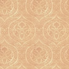 Cream Print Pattern Decorator Fabric by Vervain