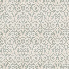 Blue Print Pattern Decorator Fabric by Vervain