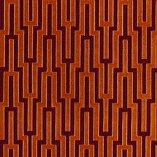 Blood Orange Decorator Fabric by Schumacher