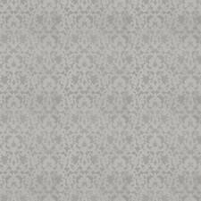 Smoke Damask Decorator Fabric by Stroheim