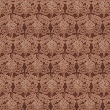 Rust Embroidery Decorator Fabric by Stroheim