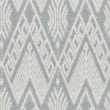 Ice Blue Diamond Decorator Fabric by Stroheim