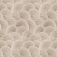 Ash Brown Geometric Decorator Fabric by Stroheim