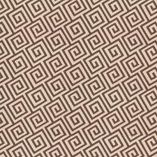 Graphite Geometric Decorator Fabric by Trend