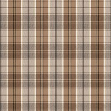 Coffee Check Decorator Fabric by Trend