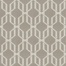 Taupe Lattice Decorator Fabric by Fabricut