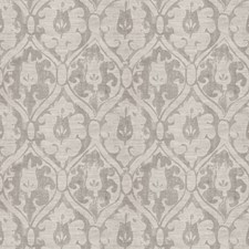 Grey Damask Decorator Fabric by Fabricut