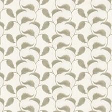 Leaf Embroidery Decorator Fabric by Fabricut