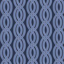 Denim Embroidery Decorator Fabric by Fabricut