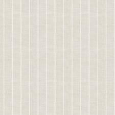 Ivory Stripes Decorator Fabric by Trend