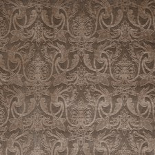 Taupe Scrollwork Decorator Fabric by Trend
