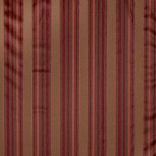 Golden Berry Stripes Decorator Fabric by Trend