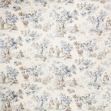Lapis Print Pattern Decorator Fabric by Trend