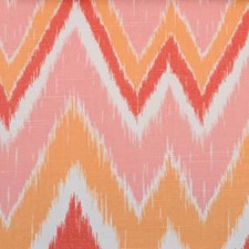 Melon Ethnic Decorator Fabric by B. Berger