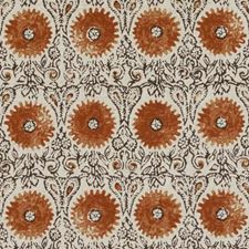 Spice Floral Medium Decorator Fabric by Duralee