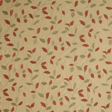 Coral Embroidery Decorator Fabric by Trend