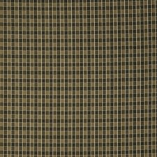 Classic Black Small Scale Woven Decorator Fabric by Trend