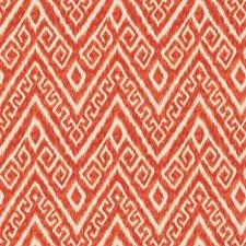 Poppy Flamestitch Decorator Fabric by Trend