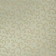 Aqua Scrollwork Decorator Fabric by Trend