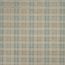 Porcelain Check Decorator Fabric by Trend