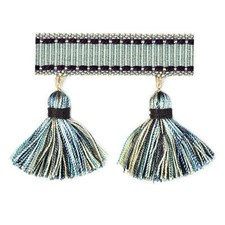 Tassel Chambray Trim by Duralee