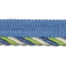 Blue/Green Trim by Duralee