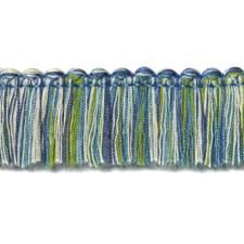 Fringe Blue/Green Trim by Duralee