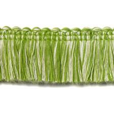 Fringe Natural/Green Trim by Duralee
