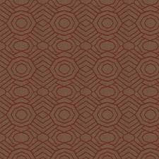 Orange Crush Contemporary Decorator Fabric by S. Harris