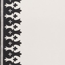 Carbon/amp/Ivory Decorator Fabric by Schumacher