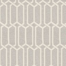 Silver Geometric Decorator Fabric by Fabricut