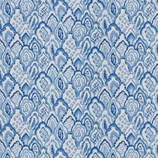 Delft Geometric Decorator Fabric by Stroheim