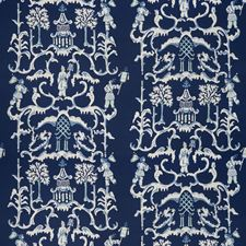 Navy Global Decorator Fabric by Stroheim