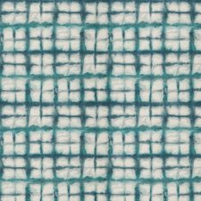 Teal Geometric Decorator Fabric by Fabricut