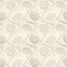 Ash Floral Decorator Fabric by Fabricut