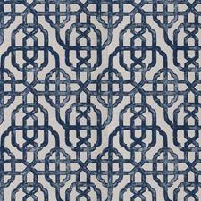 Delft Geometric Decorator Fabric by Trend
