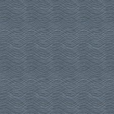 Bluedream Geometric Decorator Fabric by Stroheim